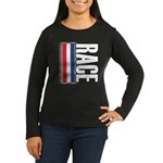 Race RWB Women's Long Sleeve Dark T-Shirt