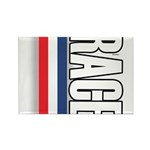 Race RWB Rectangle Magnet (100 pack)