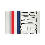 Race RWB Rectangle Magnet (10 pack)