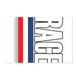 Race RWB Postcards (Package of 8)