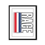 Race RWB Framed Panel Print
