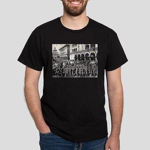 Vintage Motorcycle Dark T-Shirt