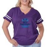 Rec Therapy Today Women's Plus Size Football T-Shi
