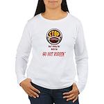 Go Hot Roddin'- Women's Long Sleeve T-Shirt