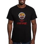 Go Hot Roddin'- Men's Fitted T-Shirt (dark)