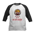 Go Hot Roddin'- Kids Baseball Jersey