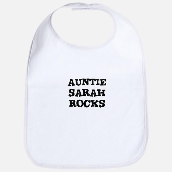 AUNTIE SARAH ROCKS Bib