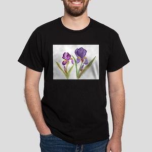 EK's Purple Iris Dark T-Shirt