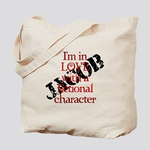 In love with fictional character Jacob Tote Bag