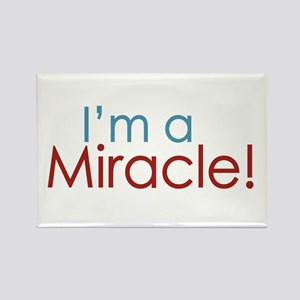 I'm a Miracle (Baby) Rectangle Magnet