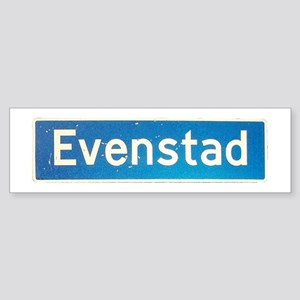 Evenstad Bumper Sticker