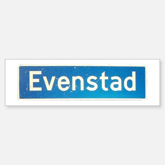 Evenstad Bumper Bumper Bumper Sticker