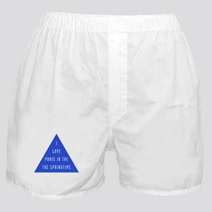 I love Paris Boxer Shorts