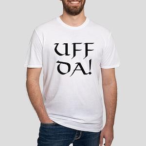 Uff Da! Fitted T-Shirt