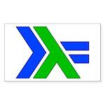 Rectangle Sticker 10 pk)