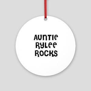 AUNTIE RYLEE ROCKS Ornament (Round)