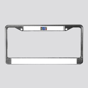 Simon's Zoo Party! License Plate Frame