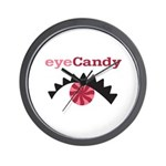 Eye Candy Wall Clock