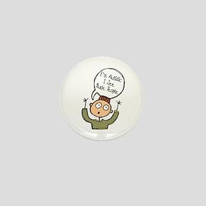 I'm Autistic - Boy Mini Button