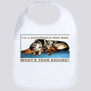 catahoula hog dog Bib