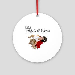 Nughty Floozy Ornament (Round)