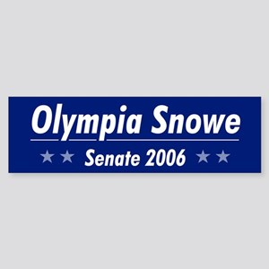Snowe 06 Bumper Sticker