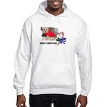 MERRY CHRISTMAS YORKSHIRE TERRIER Hooded Sweatshir