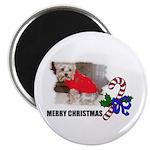 MERRY CHRISTMAS YORKSHIRE TERRIER Magnet