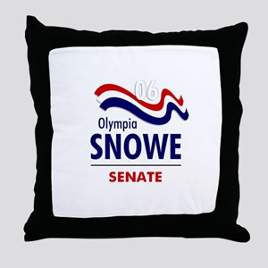 Snowe 06 Throw Pillow