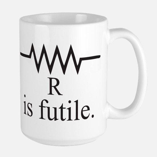 Resistance is futile Large Mug