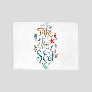 Take me to the SEA-Motivation 5'x7'Area Rug