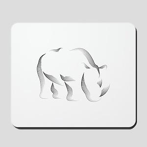 The Rhinoceros Mousepad