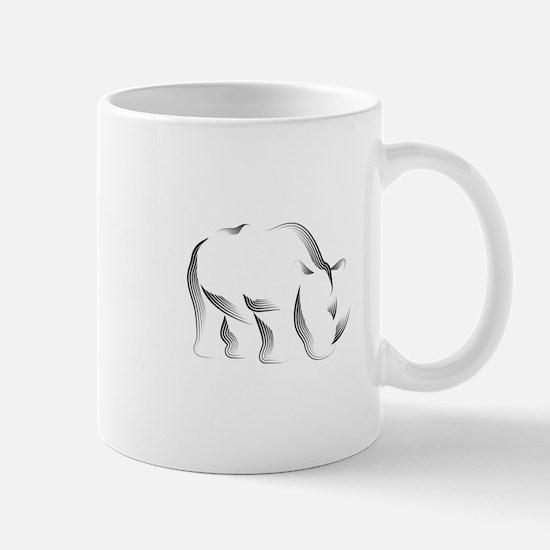 The Rhinoceros Mug