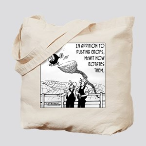 Crop Dusting & Rotation the Easy Way Tote Bag