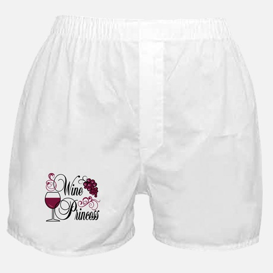 Wine Princess Boxer Shorts