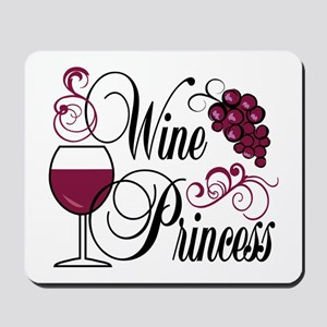 Wine Princess Mousepad