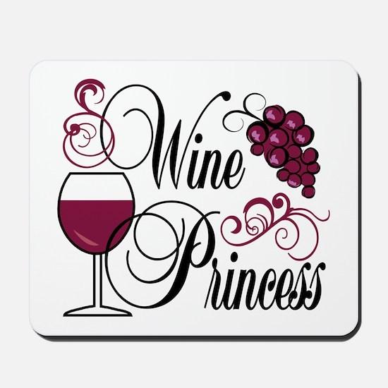 Wine Princess Mousepad