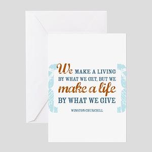 Make a Life Greeting Card