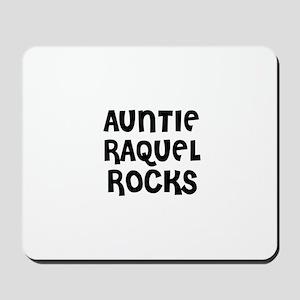 AUNTIE RAQUEL ROCKS Mousepad