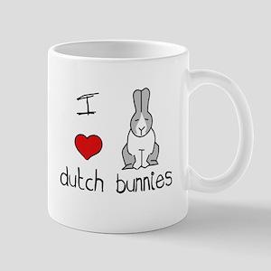 I Heart Dutch Rabbits Mug