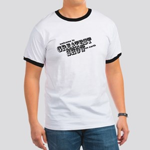 the greatest show Ringer T