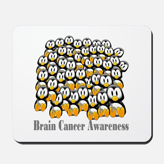 Brain Cancer Awareness Mousepad