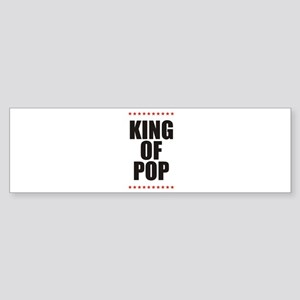 KING OF POP STARS Bumper Sticker