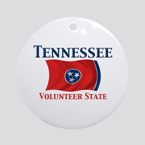 Tennessee Volunteer Ornament (Round)