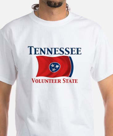 Tennessee Volunteer White T-Shirt