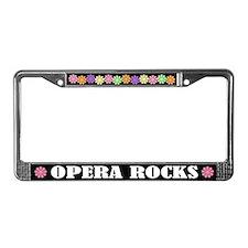 Opera Rocks License Plate Frame