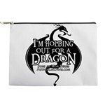 Holding Out For A Dragon Makeup Bag