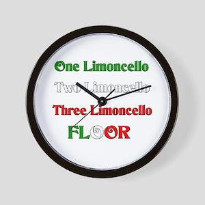Limoncello Wall Clock