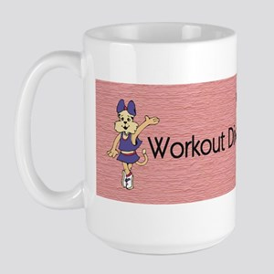 Workout Diva 15 oz Ceramic Large Mug