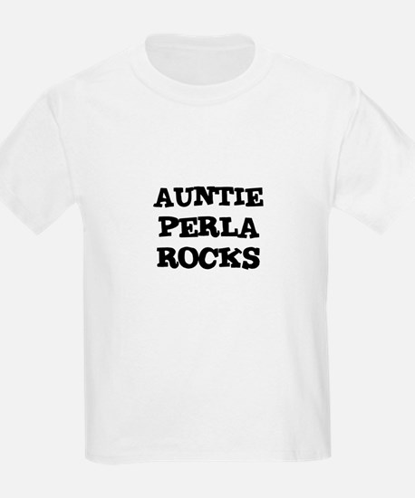 AUNTIE PERLA ROCKS Kids T-Shirt